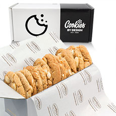BX8-WCM - Box of One Dozen White Chocolate Macadamia Gourmets