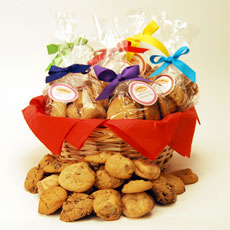 Just Right Size Cookie Basket