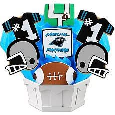 NFL1-CAR - Football Bouquet - Carolina