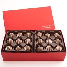 Peanut Butter Chocolate Truffles | Gourmet Candy