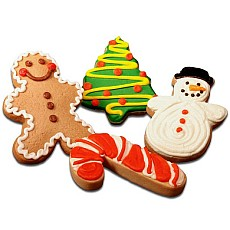 Christmas Party Favors | Christmas Sugar Cookies