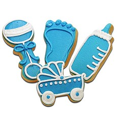 CFA2 - Baby Boy Cookie Favors