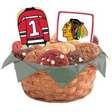 NHL Chicago Blackhawks Cookie Basket