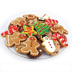 Christmas Cookie Tray   Christmas Cookie Favors