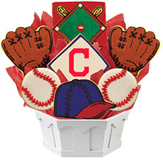 MLB1-CLE - MLB Bouquet - Cleveland Indians
