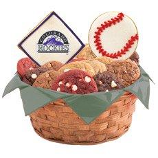 MLB Colorado Rockies Cookie Basket