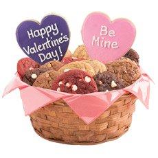 Valentines Day Gift Baskets   Valentine Cookies