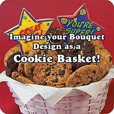 Kids Birthday Gift Basket   Dinosaur Cookies
