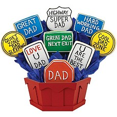 Dad Appreciation Highway Cookie Basket