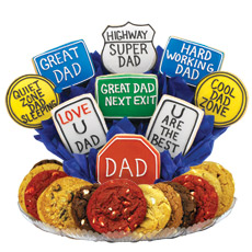 Dad Appreciation Highway Cookie BouTray