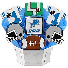 NFL1-DET - Football Bouquet - Detroit