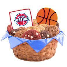 WNBA1-DET - Pro Basketball Basket - Detroit