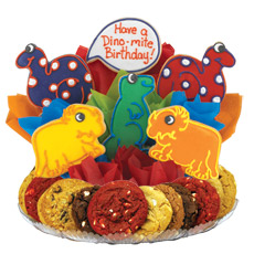 Dinomite Birthday Cookie BouTray