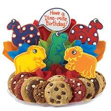 Dinosaur Birthday Gift Basket for Kids