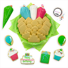 Birthday Party Decorating Kit   Cookie Favors
