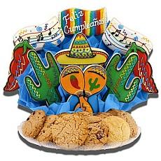 Feliz Cumpleanos Cookie BouTray
