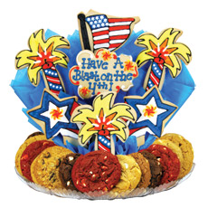 Firecrackin' Fourth Cookie BouTray