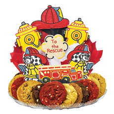 Firefighters Cookie BouTray