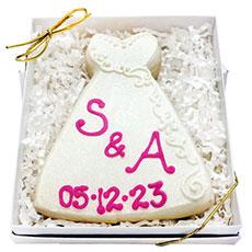 Wedding Dress Cookies   Bridal Shower Gift