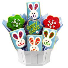 GF308 - Gluten Free Easter Patchwork Bunnies
