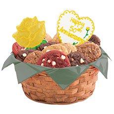 Golden Anniversary Cookie Basket