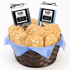 White Chocolate Macadamia Nut Cookies   Cookie Basket