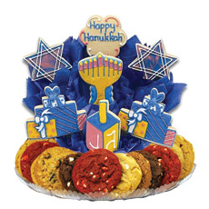 A Hanukkah Festival Cookie BouTray