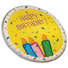 PC5 - Happy Birthday Iced Cookie Cake
