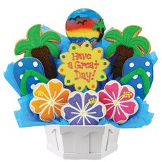 Have A Great Day Cookie Bouquet | Cookies by Design