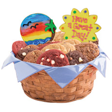 Have A Great Day Cookie Basket