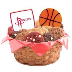 NBA Houston Rockets Cookie Basket