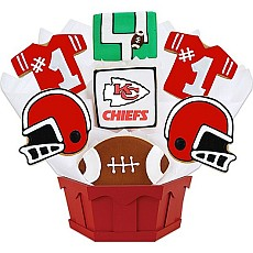 NFL1-KC - Football Bouquet - Kansas City