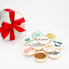 TINNGP1 - Corporate Logo Tin - Ten Cookies