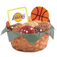 NBA Los Angeles Lakers Cookie Basket