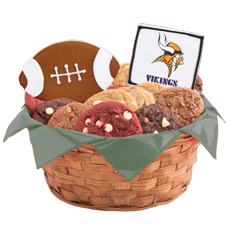 WNFL1-MIN - Football Basket - Minnesota