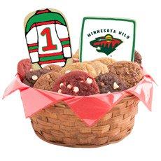 NHL Minnesota Wild Cookie Basket