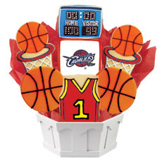 NBA1-CLE - Pro Basketball Bouquet - Cleveland