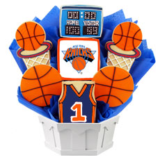 NBA1-NYK - Pro Basketball Bouquet - New York