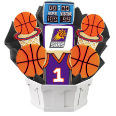 NBA1-PHX - Pro Basketball Bouquet - Phoenix