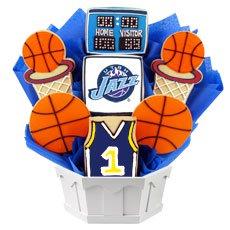 NBA Utah Jazz Cookie Bouquet
