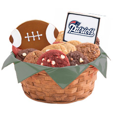 WNFL1-NE - Football Basket - New England