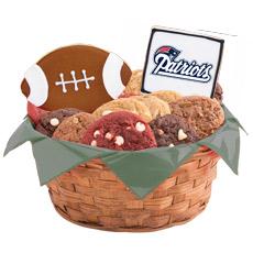 NFL New England Patriots Cookie Basket