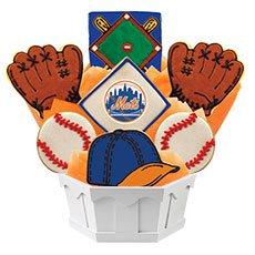 MLB New York Mets Cookie Bouquet