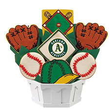 MLB1-OAK - MLB Bouquet - Oakland Athletics