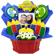 PH147 - Photo Cookies - Confetti and Candles Primary