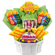PH148 - Photo Cookies - Confetti and Candles Bright