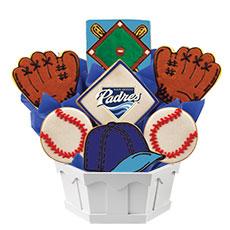 MLB1-SDG - MLB Bouquet - San Diego Padres