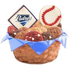 MLB San Diego Padres Cookie Basket