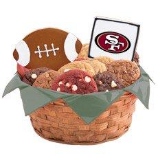 NFL San Francisco 49ers Cookie Basket