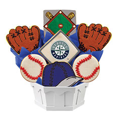 MLB1-SEA - MLB Bouquet - Seattle Mariners